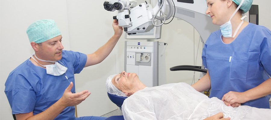 New technology Help in cataract surgery easier.